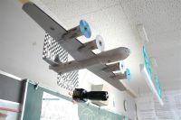 B-29 ボックスカー…教室に来襲!