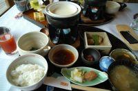 三余庵の朝食