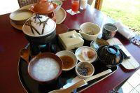 三余庵の朝飯